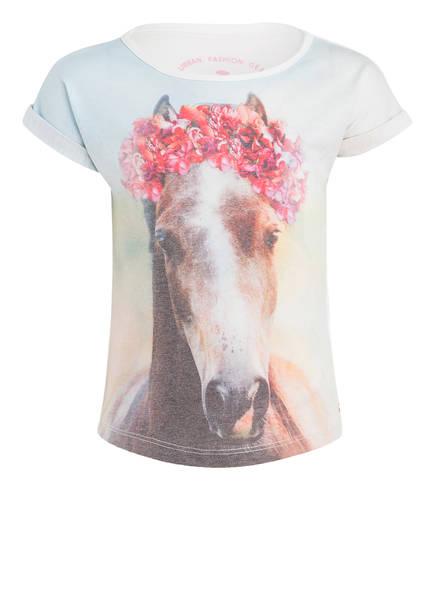 TOM TAILOR T-Shirt, Farbe: HELLGELB BEDRUCKT (Bild 1)