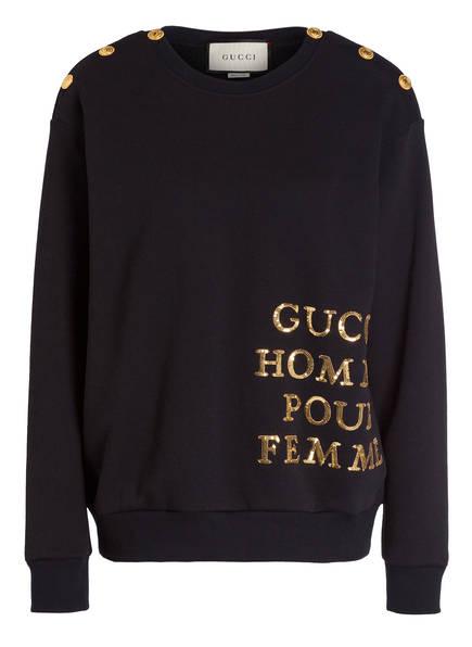 GUCCI Pullover, Farbe: SCHWARZ (Bild 1)
