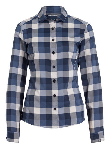 odlo Outdoor-Bluse KUMANO , Farbe: BLAU/ WEISS (Bild 1)