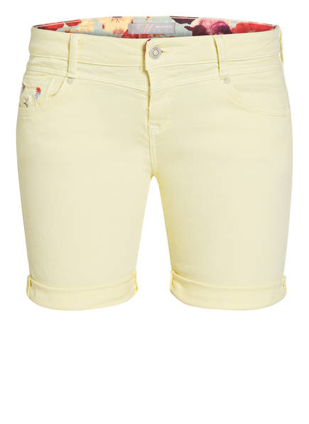 mavi Jeans-Shorts CAMILLA, Farbe: YELLOW WASHED DENIM (Bild 1)