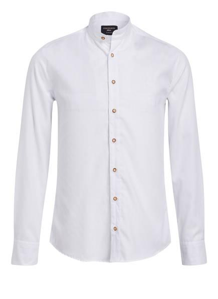 CocoVero Trachtenhemd FINLEY Slim Fit , Farbe: WEISS (Bild 1)