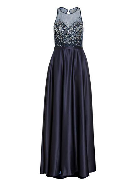 unique Abendkleid, Farbe: DUNKELBLAU (Bild 1)