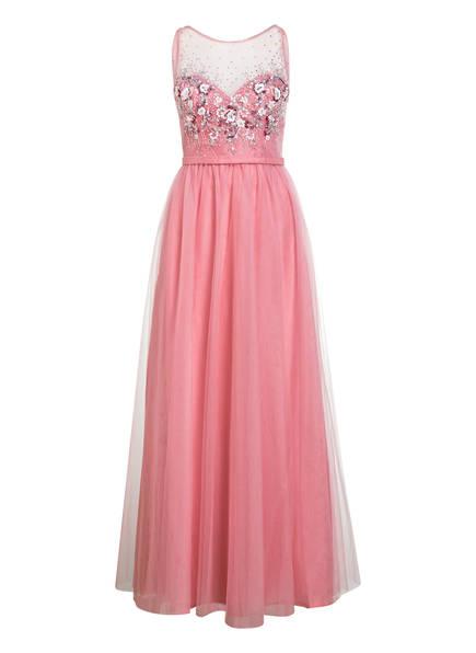 unique Kleid mit Paillettenbesatz, Farbe: ROSA (Bild 1)