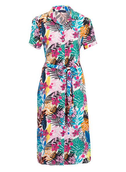DARLING HARBOUR Kleid, Farbe: WEISS/ ROSA/ TÜRKIS (Bild 1)