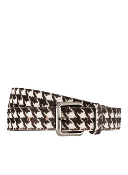 MARCCAIN Ledergürtel , Farbe: 910 BLACK/ WHITE (Bild 1)