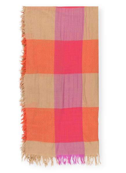 MARCCAIN Wollschal, Farbe: PINK/ BEIGE (Bild 1)