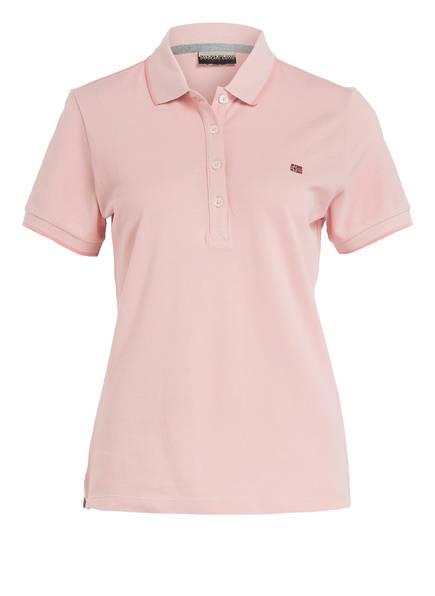 NAPAPIJRI Piqué-Poloshirt ELMA, Farbe: HELLROSA (Bild 1)