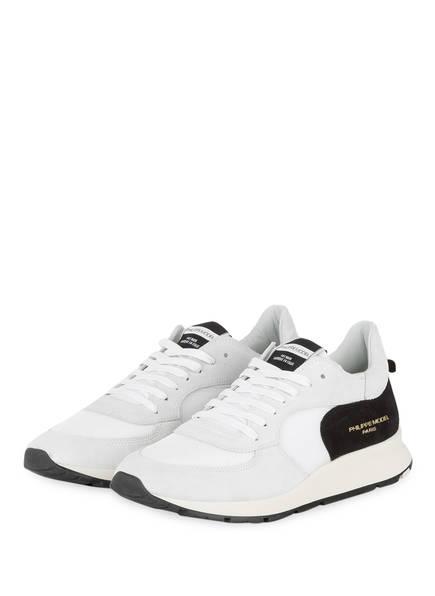 PHILIPPE MODEL Sneaker MONTE CARLO, Farbe: WEISS/ SCHWARZ (Bild 1)