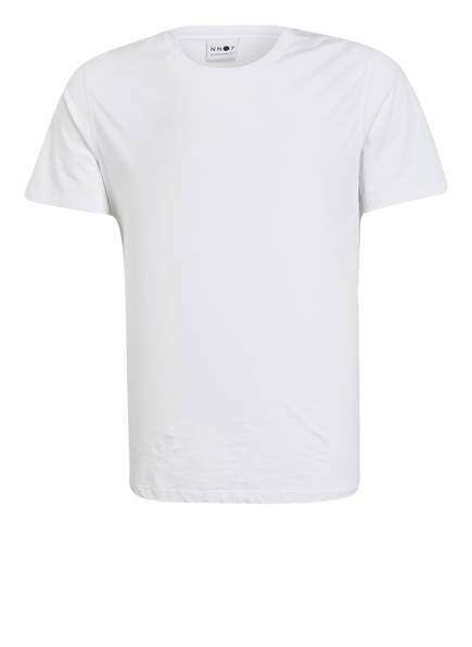 NN07 T-Shirt PIMA, Farbe: WEISS (Bild 1)