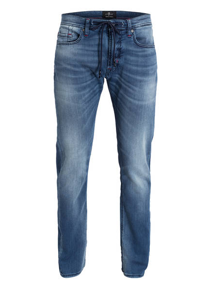 7 for all mankind Jeans RONNIE J Slim Fit, Farbe: BLAU (Bild 1)