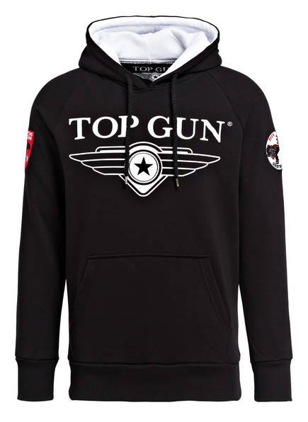 TOP GUN Hoodie, Farbe: SCHWARZ/ WEISS (Bild 1)