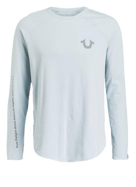 TRUE RELIGION Langarmshirt, Farbe: HELLBLAU (Bild 1)