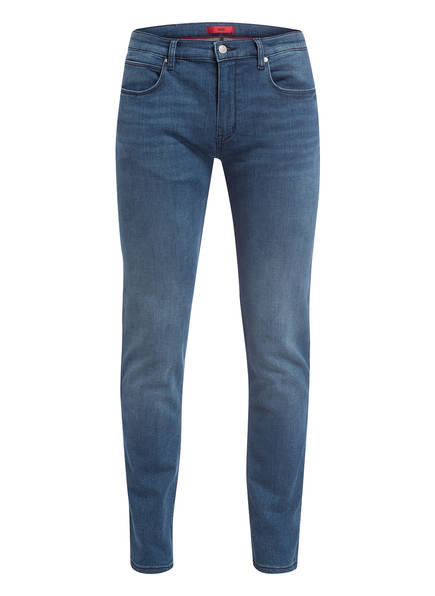 HUGO Jeans HUGO 708 Slim Fit, Farbe: 421 MEDIUM BLUE (Bild 1)