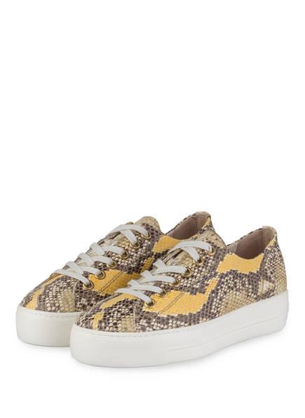 reputable site ad010 59818 Plateau-Sneaker MAMBA