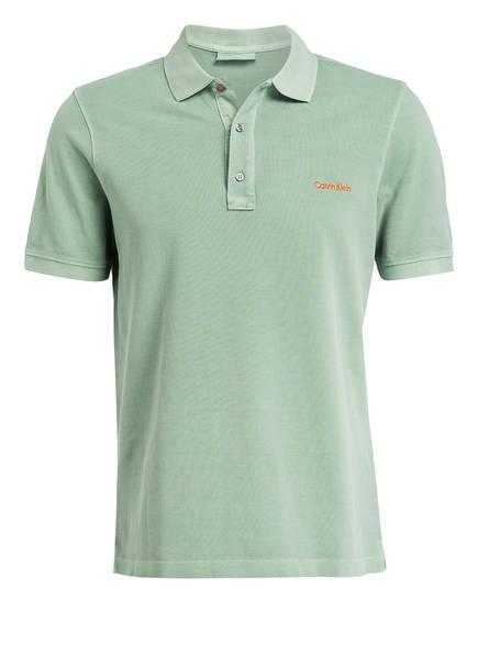 Calvin Klein Piqué-Poloshirt, Farbe: MINT (Bild 1)