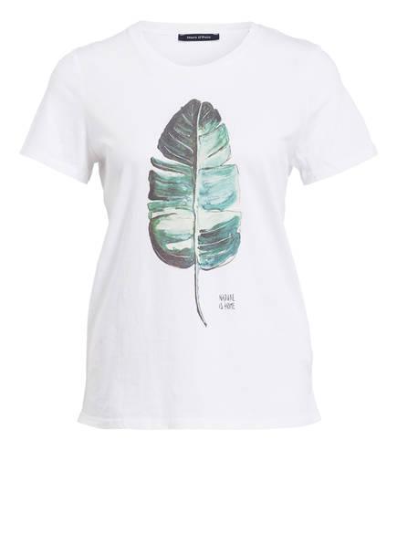 Marc O'Polo T-Shirt, Farbe: WEISS BEDRUCKT (Bild 1)