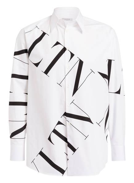 VALENTINO Oversized-Hemd Comfort Fit, Farbe: WEISS/ SCHWARZ (Bild 1)