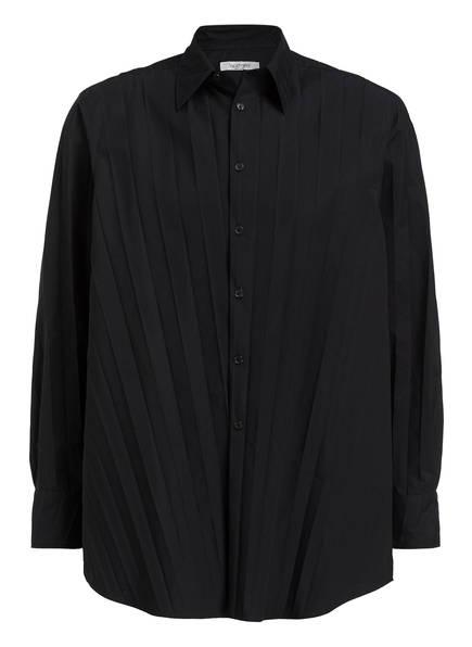 VALENTINO Oversized-Hemd Comfort Fit, Farbe: SCHWARZ (Bild 1)