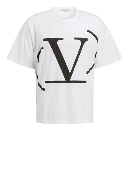 VALENTINO T-Shirt, Farbe: WEISS/ SCHWARZ (Bild 1)