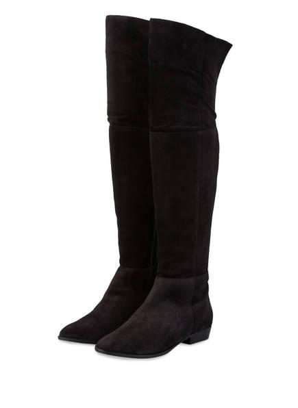 Högl Overknee-Stiefel, Farbe: SCHWARZ (Bild 1)
