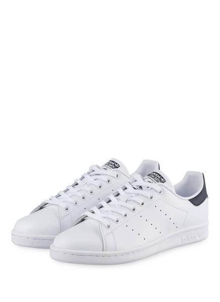 adidas Originals Sneaker STAN SMITH, Farbe: WEISS/ BLAU (Bild 1)