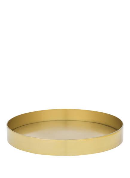 Bloomingville Tablett, Farbe: GOLD (Bild 1)