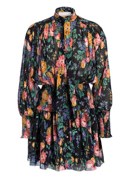 ZIMMERMANN Kleid ALLIA, Farbe: SCHWARZ GEMUSTERT (Bild 1)
