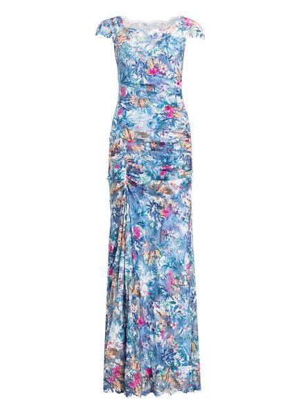 OLVI'S Off-Shoulder-Kleid, Farbe: BLAU/ PINK/ WEISS (Bild 1)
