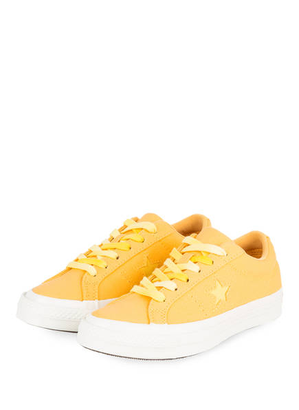 CONVERSE Sneaker ONE STAR SUNBAKED, Farbe: ORANGE (Bild 1)