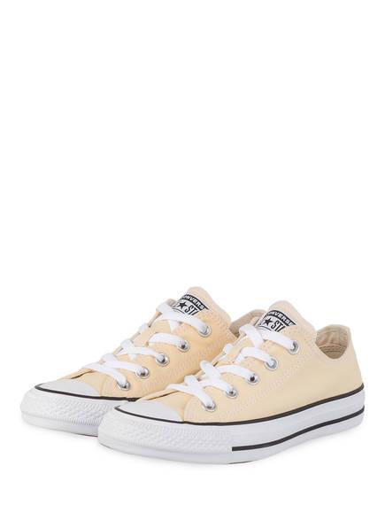 CONVERSE Sneaker CHUCK TAYLOR ALL STAR, Farbe: HELLGELB/ CREME (Bild 1)