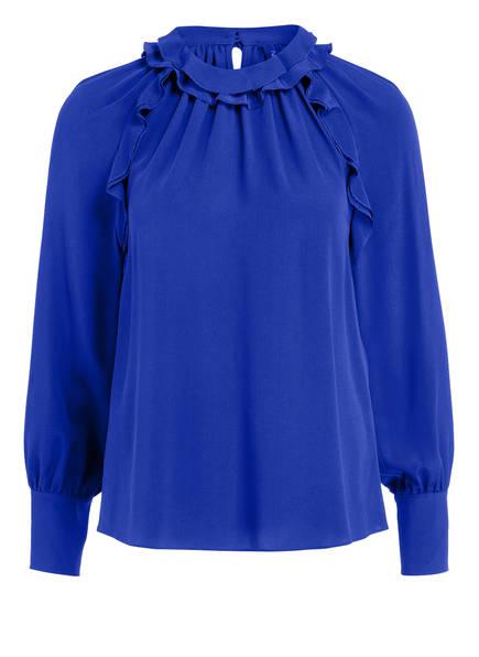 MARCCAIN Blusenshirt aus Seide , Farbe: 751 BLUE VIOLET (Bild 1)