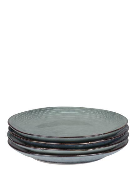 BROSTE COPENHAGEN 4er-Set Dessertteller , Farbe: NORDIC SEA (Bild 1)