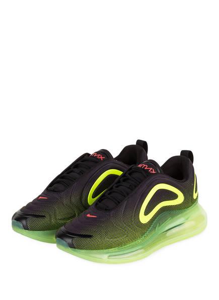 Nike Sneaker AIR MAX 720, Farbe: SCHWARZ/ NEONGRÜN (Bild 1)