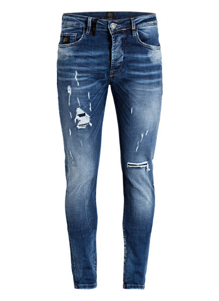 ER ELIAS RUMELIS Jeans NOEL Tapered Fit , Farbe: 380 AZURITE BLUE (Bild 1)