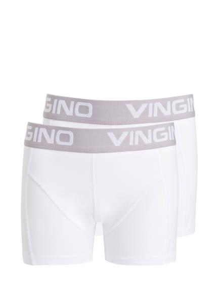 VINGINO 2er-Pack Boxershorts, Farbe: WEISS (Bild 1)