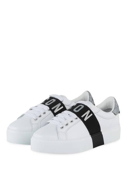 DSQUARED2 Sneaker ICON, Farbe: WEISS (Bild 1)