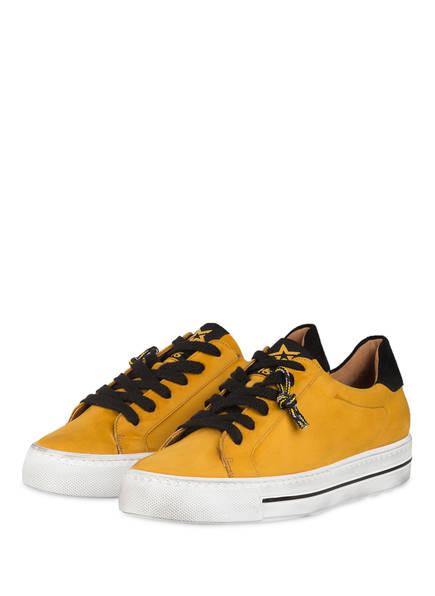 paul green Plateau-Sneaker, Farbe: DUNKELGELB (Bild 1)