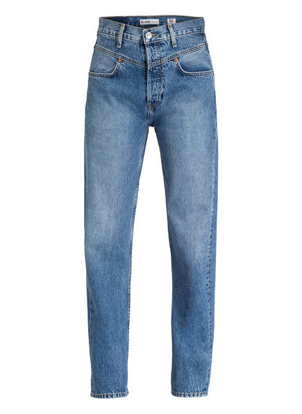 RE/DONE Mom-Jeans, Farbe: BLAU (Bild 1)