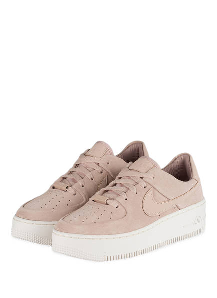 Nike Sneaker AIR FORCE 1 SAGE, Farbe: NUDE (Bild 1)