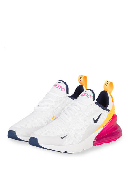Nike Sneaker AIR MAX 270, Farbe: WEISS/ NAVY/ PINK (Bild 1)