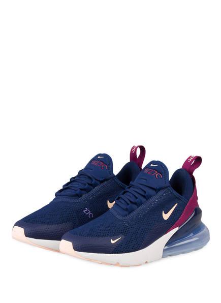 Nike Sneaker AIR MAX 270, Farbe: BLAU/ BORDEAUX (Bild 1)