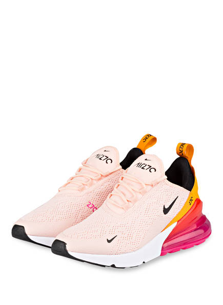 Nike Sneaker AIR MAX 270, Farbe: HELLROSA/ ORANGE (Bild 1)