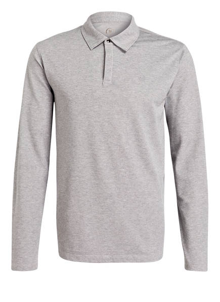 BOGNER Piqué-Poloshirt TIMON-3, Farbe: GRAU MELIERT (Bild 1)