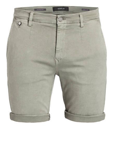 REPLAY Chino-Shorts, Farbe: GRÜN (Bild 1)