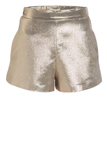 maje Shorts ILUR mit Seidenanteil , Farbe: GOLD (Bild 1)