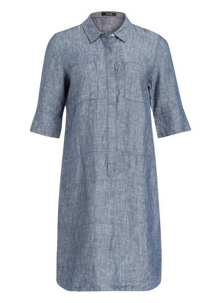 OPUS Leinenkleid WILLMAR, Farbe: BLAU MELIERT (Bild 1)