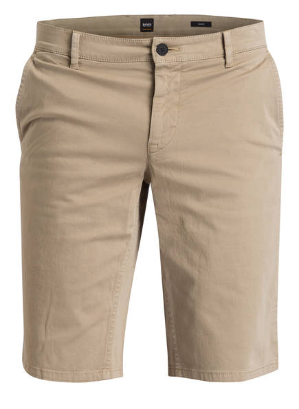 BOSS Chino-Shorts SCHINO Slim Fit, Farbe: BEIGE (Bild 1)