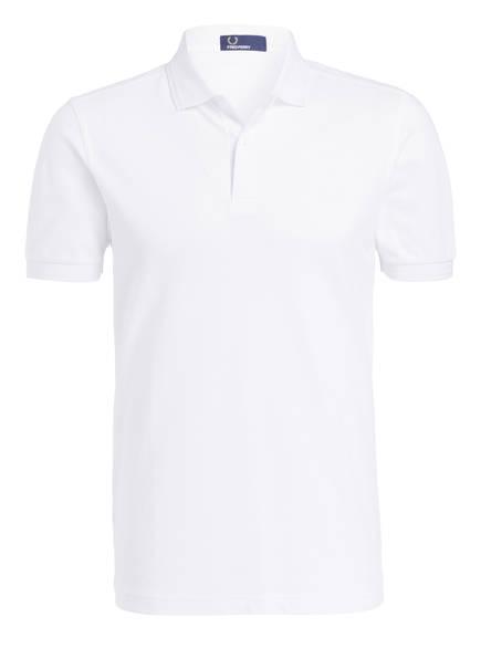 FRED PERRY Piqué-Poloshirt, Farbe: WEISS (Bild 1)