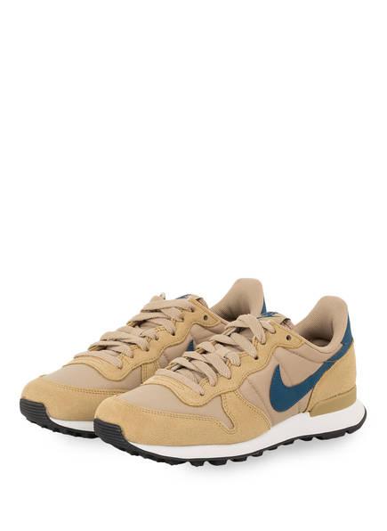 Nike Sneaker INTERNATIONALIST, Farbe: BEIGE/ BLAU (Bild 1)