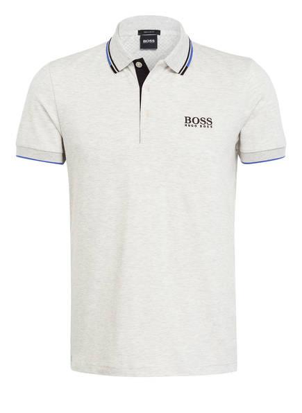 BOSS Piqué-Poloshirt PADDY PRO Modern Fit , Farbe: HELLGRAU MELIERT (Bild 1)